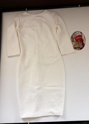 Белое платье 44-46р2 фото