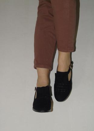 В наличии туфли seven под замш c перфорацией2 фото