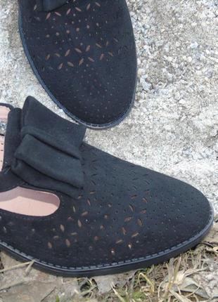 В наличии туфли seven под замш c перфорацией5 фото