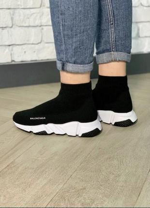 Чёрные кроссовки носки ,кеды,чулки