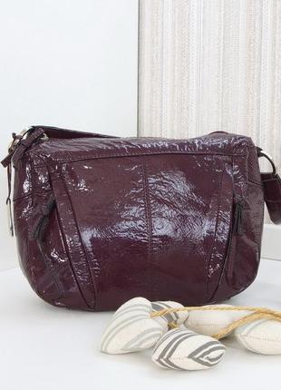 Кожаная сумка tula, британия. натуральная кожа.