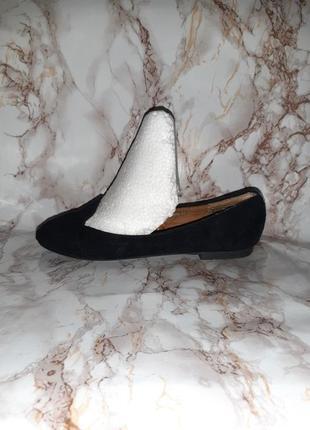 Чёрные туфли лоферы на низком ходу3 фото