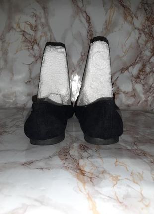 Чёрные туфли лоферы на низком ходу8 фото