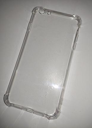 Чехол силикон прозрачный для на айфон iphone 6 plus