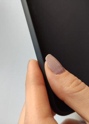 Чёрный силиконовый чехол накладка для на iphone айфон 7 плюс 8 плюс6 фото
