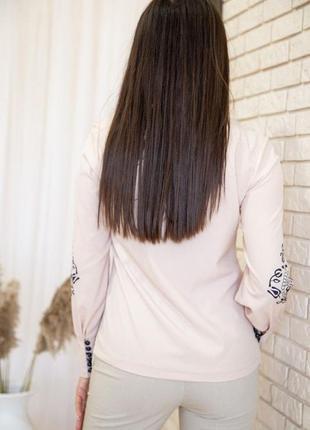 Блуза женская с орнаментом3 фото
