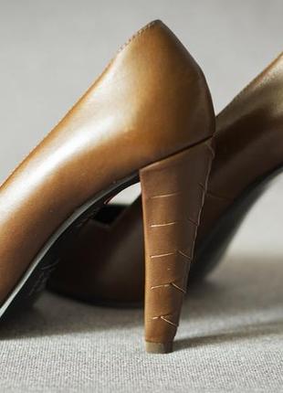 Кожаные туфли & other stories 36,5 туфли-лодочки из натуральной кожи