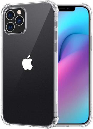 Прозрачный противоударный чехол tpu apple iphone 12 mini защитный чохол айфон мини