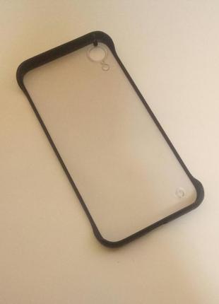 Новый прочный силикон + пластик чехол на айфон iphone xr2 фото