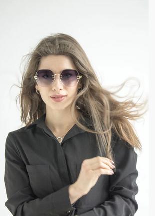 Очки. женские солнцезащитные очки.