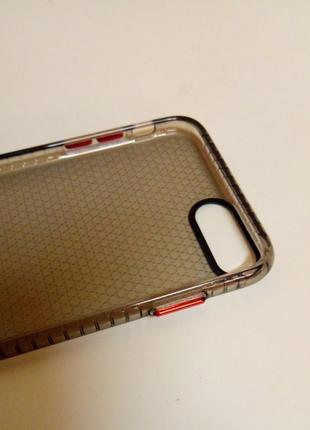 Новый прочный силиконовый чехол серого цвета на айфон iphone 8 plus4 фото