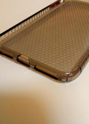 Новый прочный силиконовый чехол серого цвета на айфон iphone 8 plus5 фото