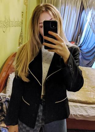 Пиджак с лампасамм