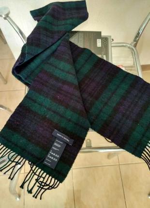 Зимний теплый шарф tommy hilfiger