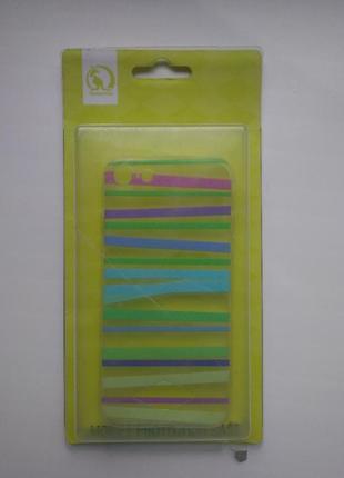 Чехол iphone7, силиконовый цветной