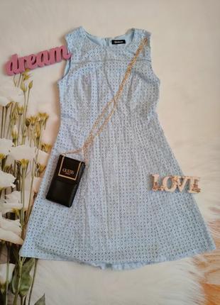 Платье прошва ришелье шитье
