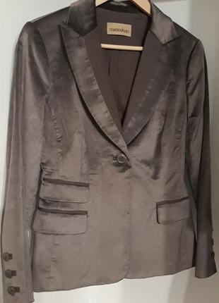 Эксклюзивный велюровый бархатный блейзер жакет пиджак manoukian