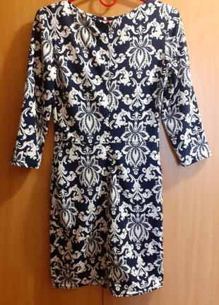 Платье узорчатое турция2 фото