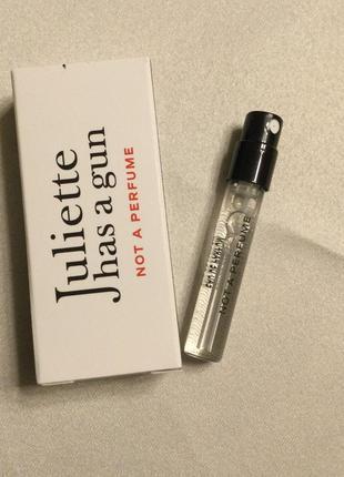 Пробник парфюма not a perfume juliette has a gun 1,7 мл