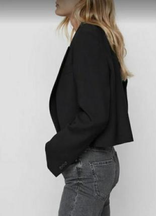 Укороченный жакет, пиджак zara