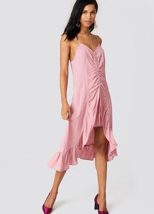 Рожева сукня na-kd