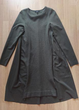 Красивое шерстяное платье cos🔥 шерсть + коттон