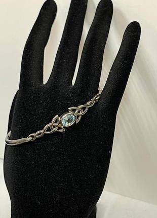 Винтажный браслет серебро 925