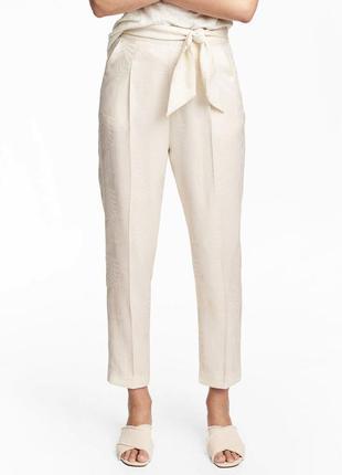 Легкие брюки h&m размер s-m