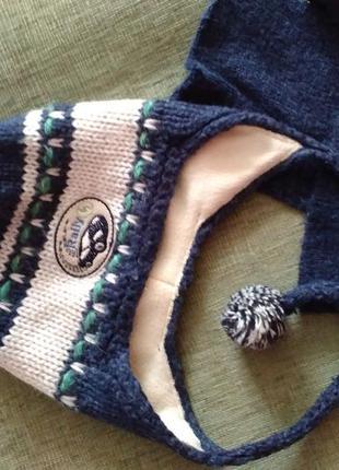 Обалденный зимний комплект (шапка и шарф) польша