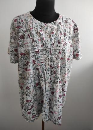 Блузка рубашка батистовка 26 р от damart