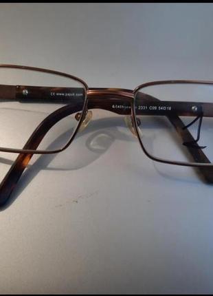 Очки,металлическая оправа