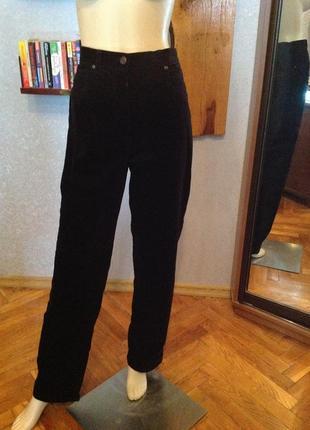 Натуральные, новые вельветовые брюки бренда brandtex, р. 48