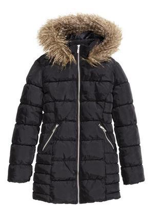 Черная куртка h&m
