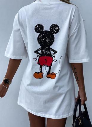 Трендовое платье туника футболка хит3 фото