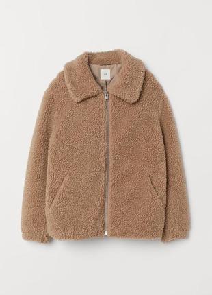 Плюшевая куртка, куртка тедди, меховая , шуба искусственная