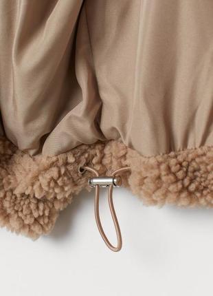 Плюшевая куртка, куртка тедди, меховая , шуба искусственная4 фото