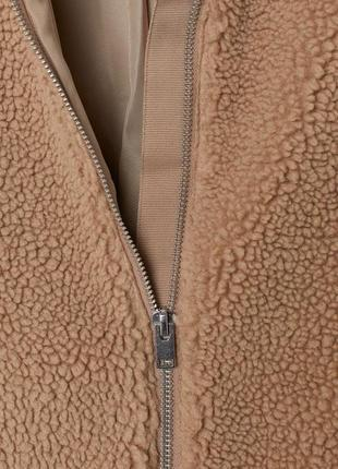 Плюшевая куртка, куртка тедди, меховая , шуба искусственная3 фото