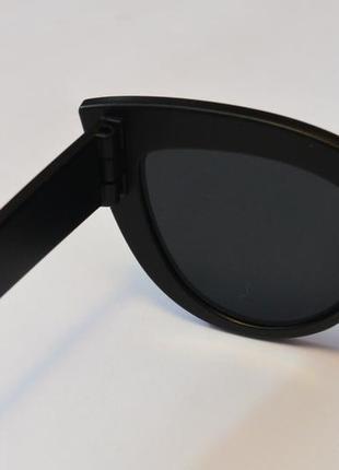 4-42 элегантные солнцезащитные очки с матовой оправой елегантні сонцезахисні окуляри2 фото