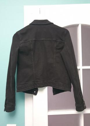 Джинсовая куртка bershka3 фото