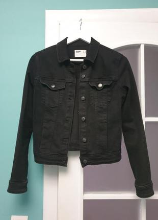 Джинсовая куртка bershka2 фото