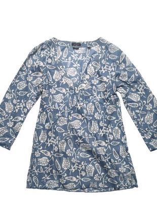 Батистовая блузка туника marc o'polo /1419/