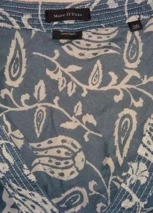 Батистовая блузка туника marc o'polo /1419/3 фото