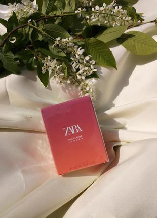 Zara pink flambe zara