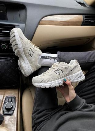 Женские кроссовки new balance 530 beige7 фото