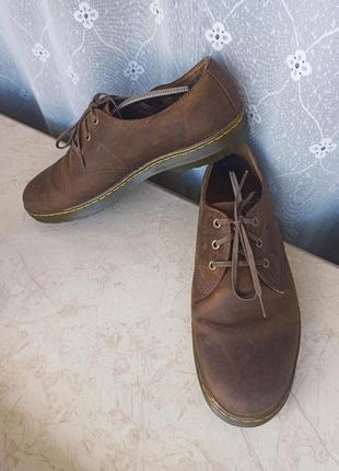 Туфли мокасины туфлі dr. martens 46 47 р оригинал