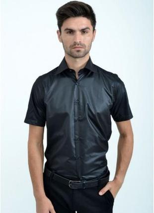 Очень красивая модель рубашек с коротким рукавом- s m l