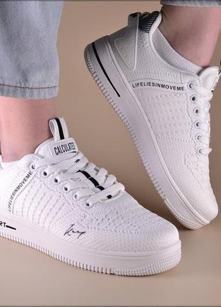 Женские кроссовки force sport white