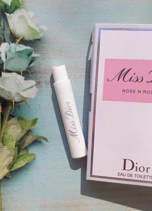 Пробник miss dior rose n´roses