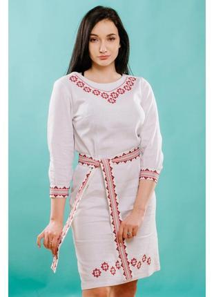 Платье с вышивкой р. наложенный платеж