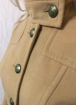 Пальто с погонами kira plastinina